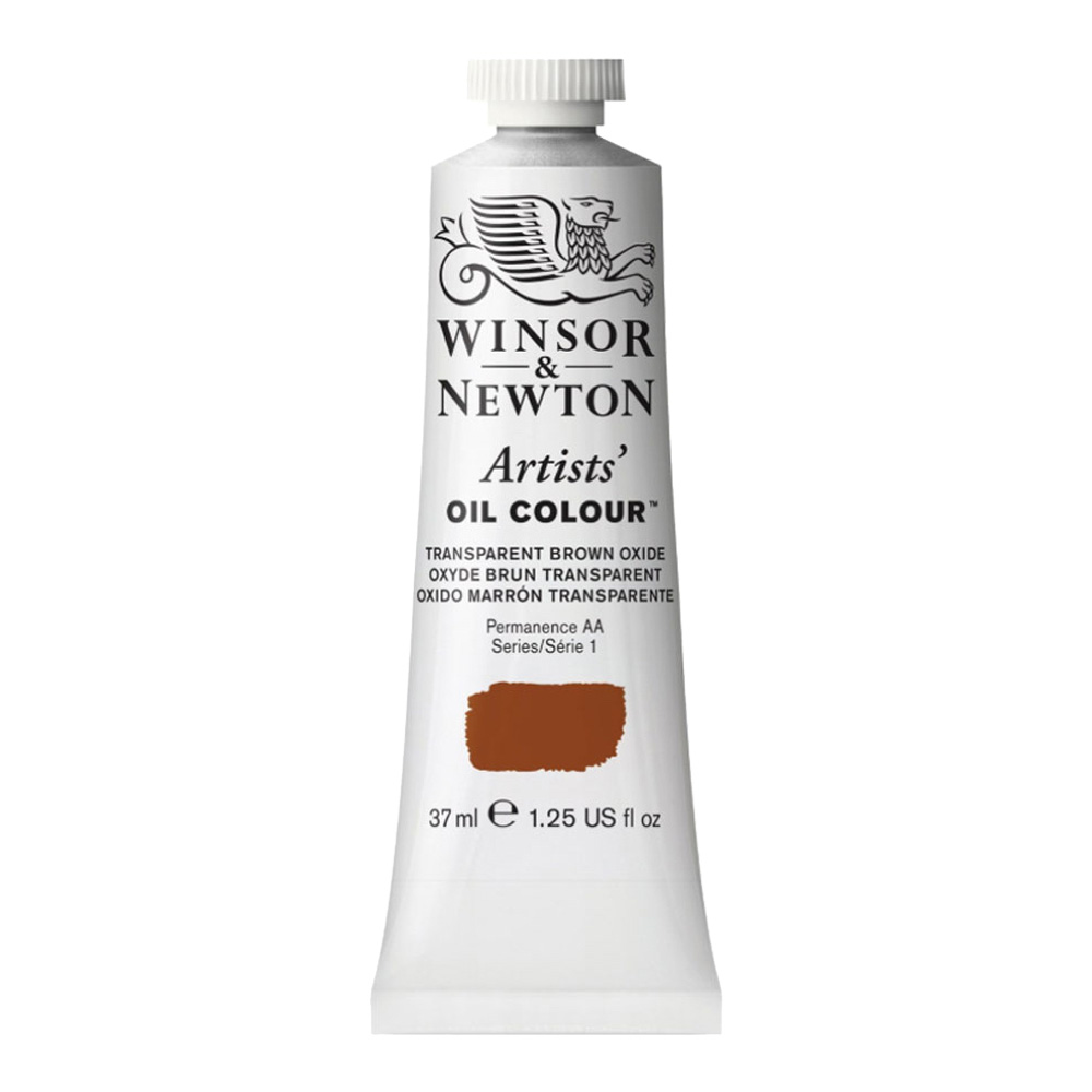 W&N Artist Oil 37Ml Transparent Brown Oxide