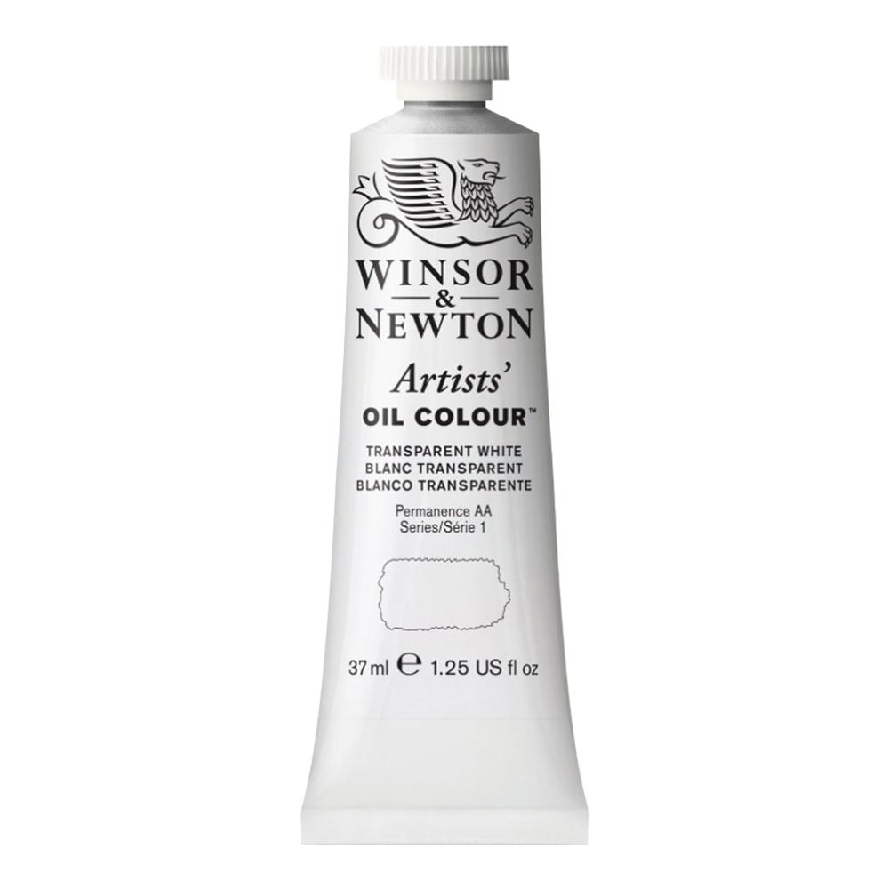 W&N Artist Oil 37Ml Transparent White