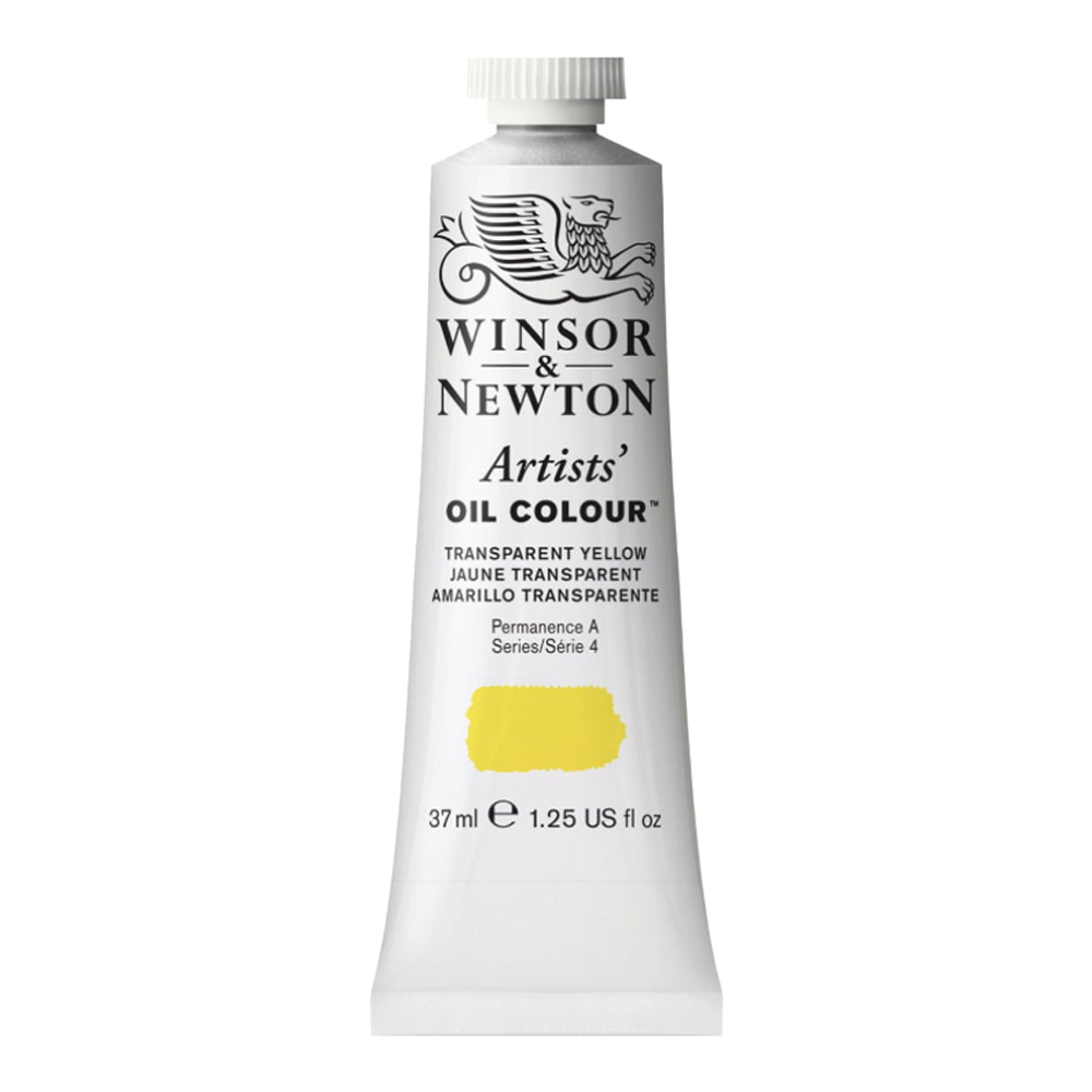 W&N Artist Oil 37Ml Transparent Yellow