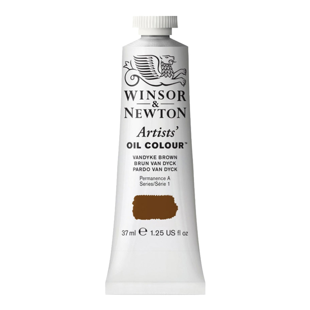 W&N Artist Oil 37Ml Vandyke Brown