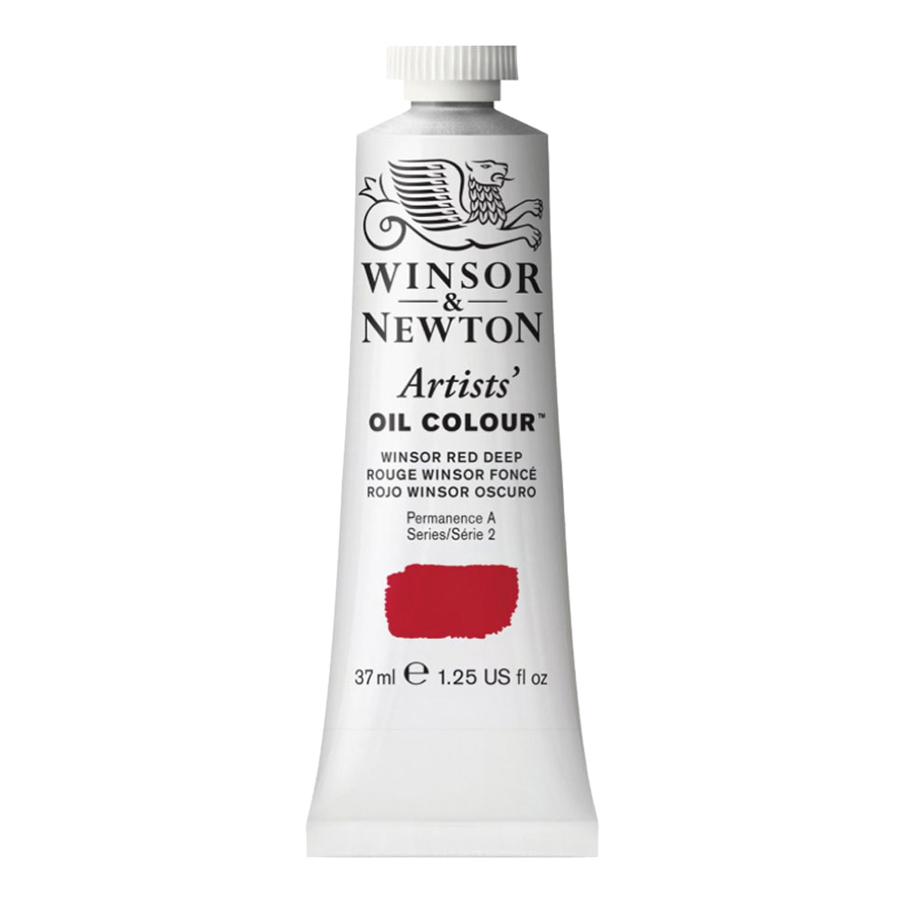 W&N Artist Oil 37Ml Winsor Red Deep
