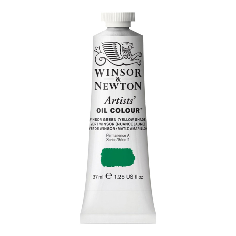 W&N Artist Oil 37Ml Winsor Green Yellow