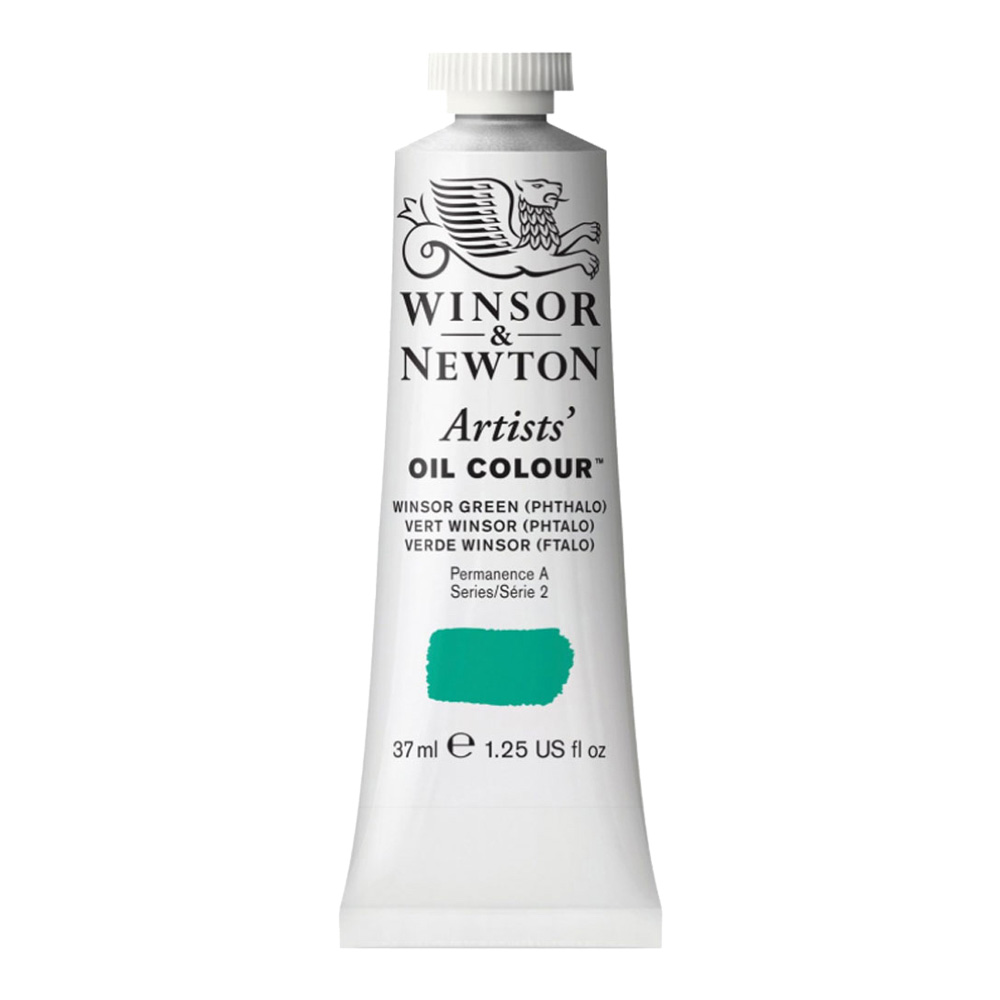 W&N Artist Oil 37Ml Winsor Green