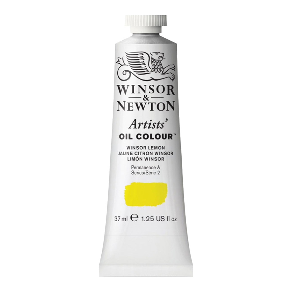W&N Artist Oil 37Ml Winsor Lemon