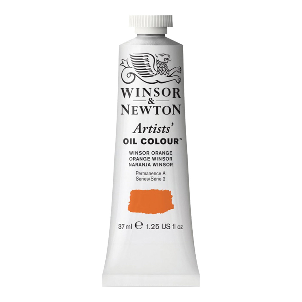 W&N Artist Oil 37Ml Winsor Orange