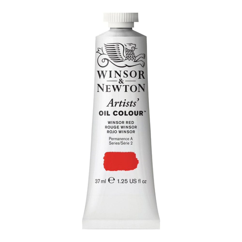 W&N Artist Oil 37Ml Winsor Red