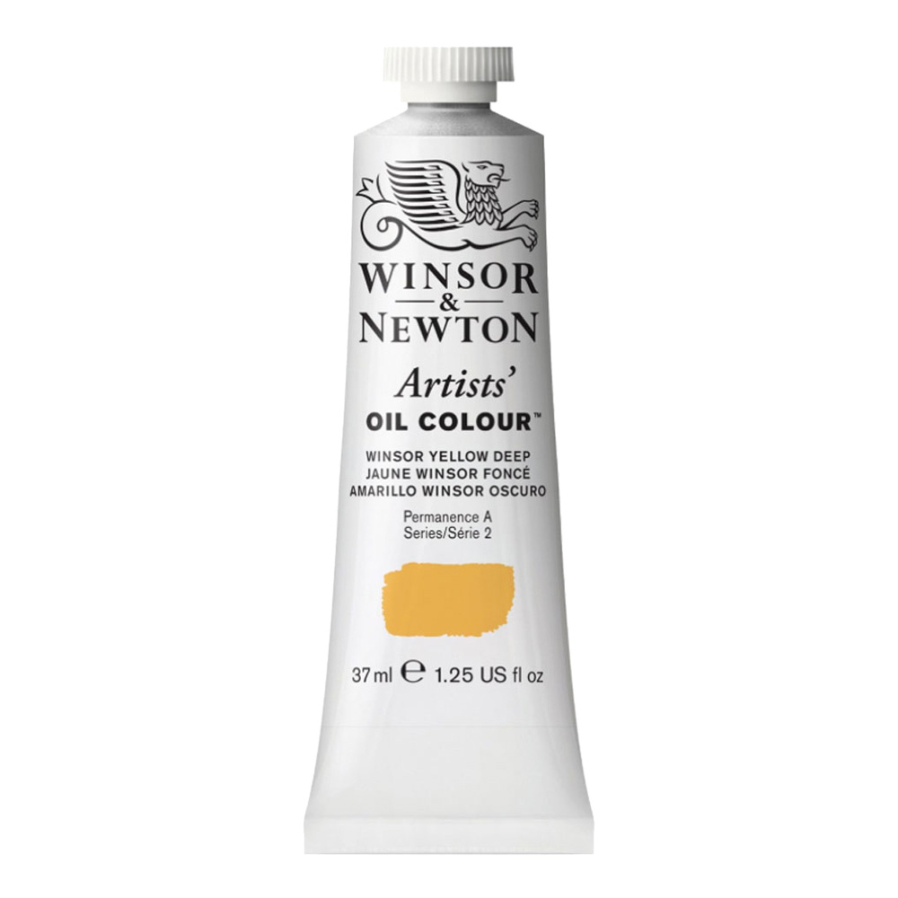 W&N Artist Oil 37Ml Winsor Yellow Deep