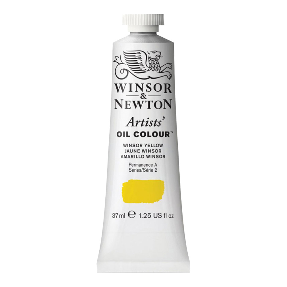 W&N Artist Oil 37Ml Winsor Yellow