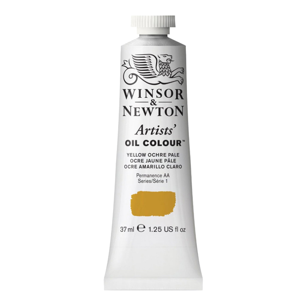 W&N Artist Oil 37Ml Yellow Ochre Pale