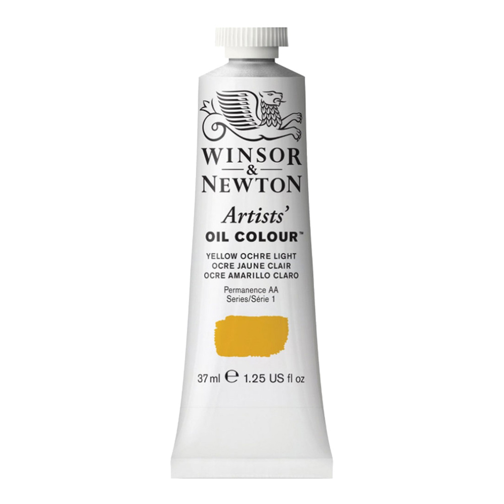 W&N Artist Oil 37Ml Yellow Ochre Light