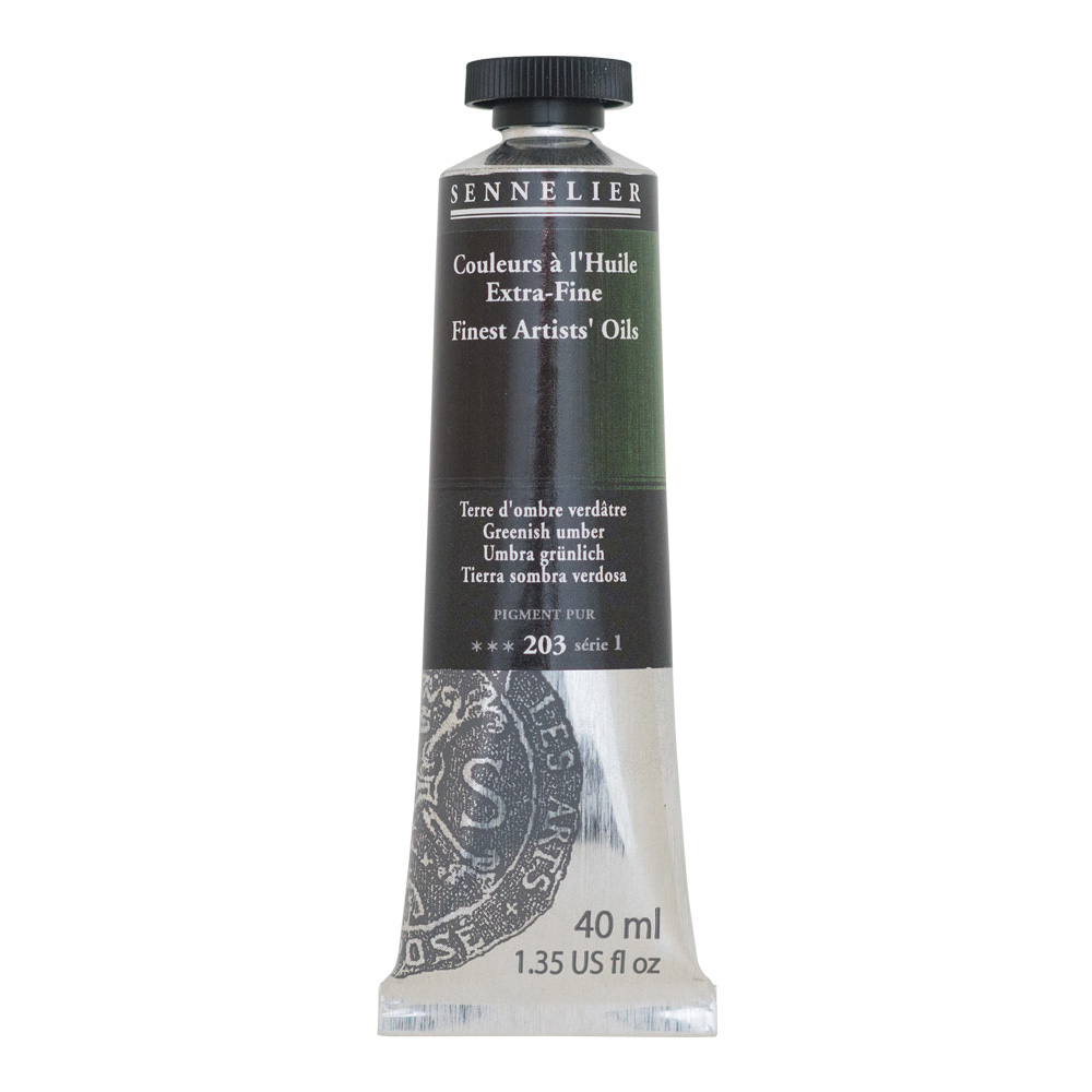 Sennelier Oil 40ml S1 Greenish Umber