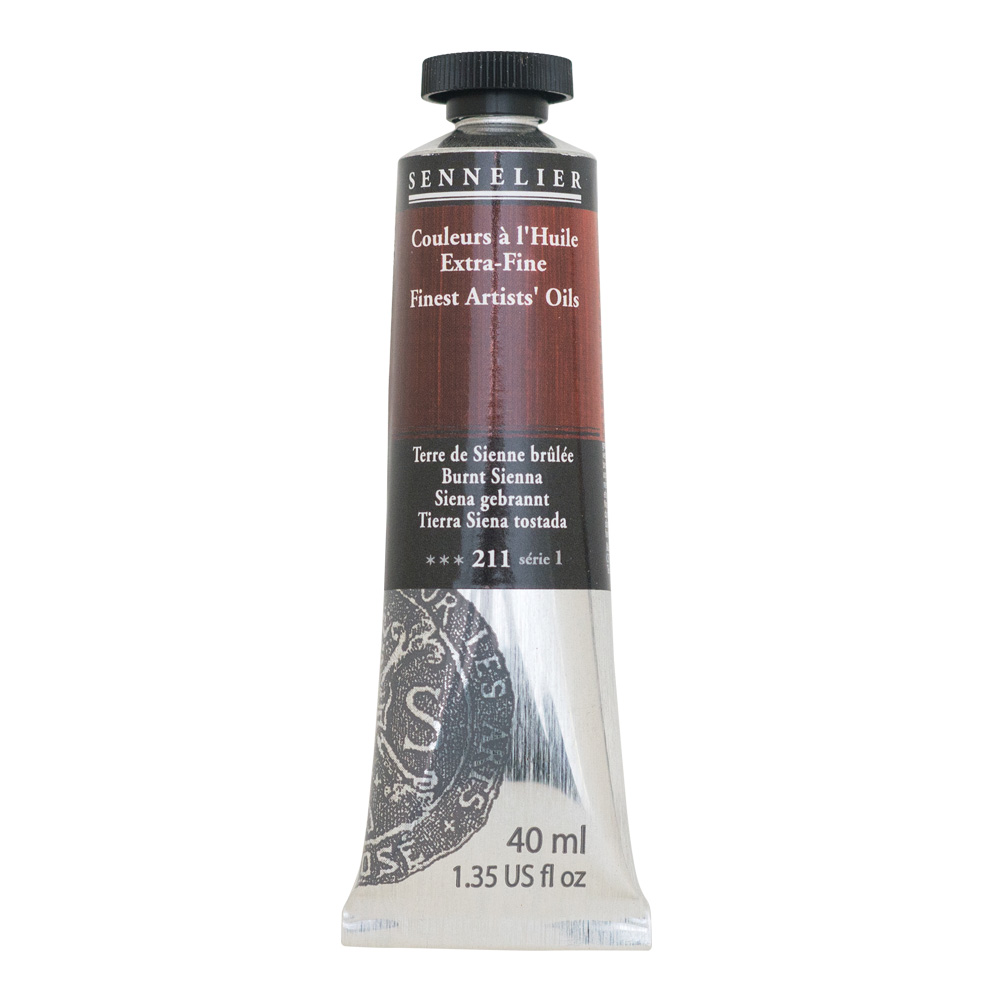 Sennelier Oil 40ml S1 Burnt Sienna