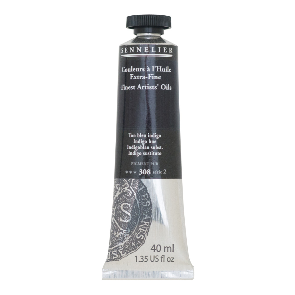 Sennelier Oil 40ml S2 Indigo Hue