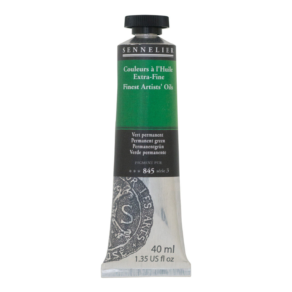 Sennelier Oil 40ml S3 Permanent Green
