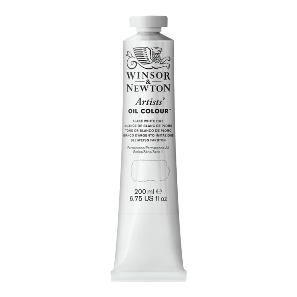 W&N Artist Oil 200Ml Flake White Hue