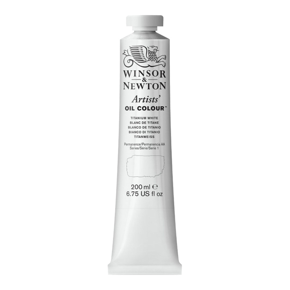 W&N Artist Oil 200Ml Titanium White