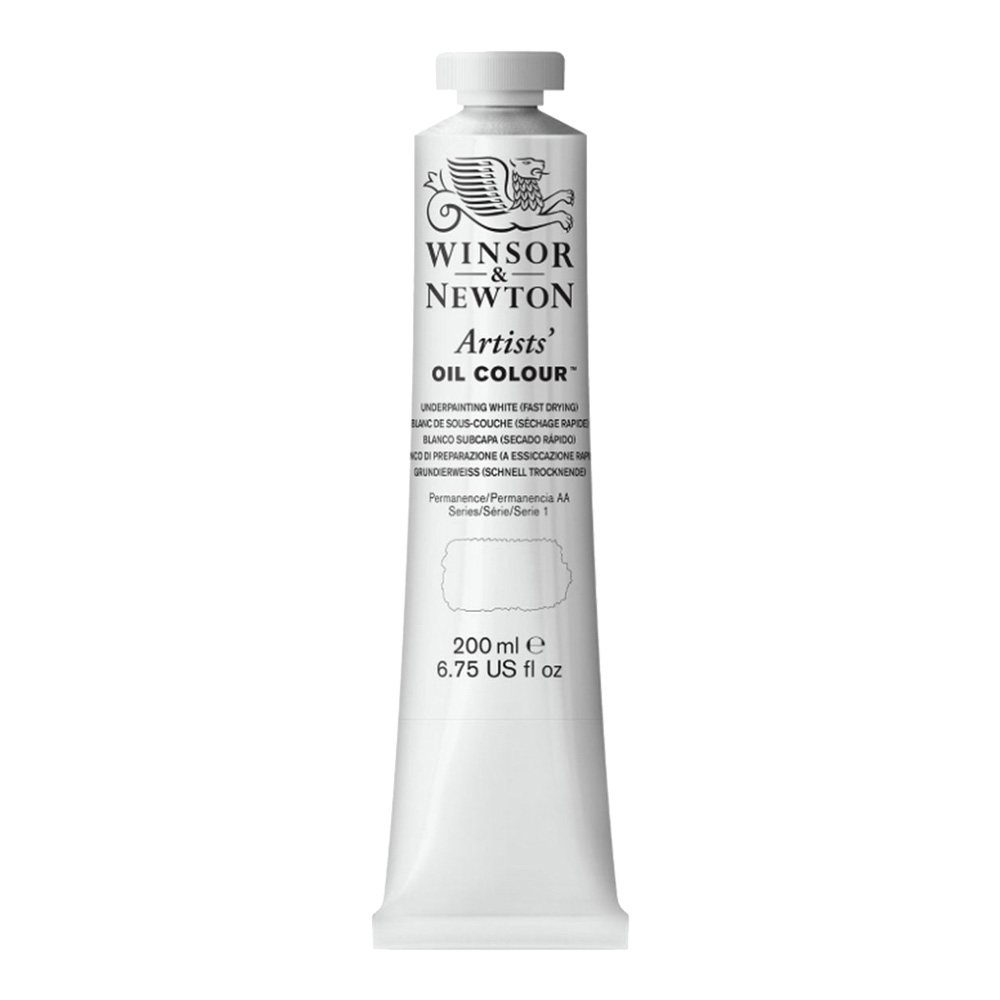 W&N Artist Oil 200Ml Underpainting White