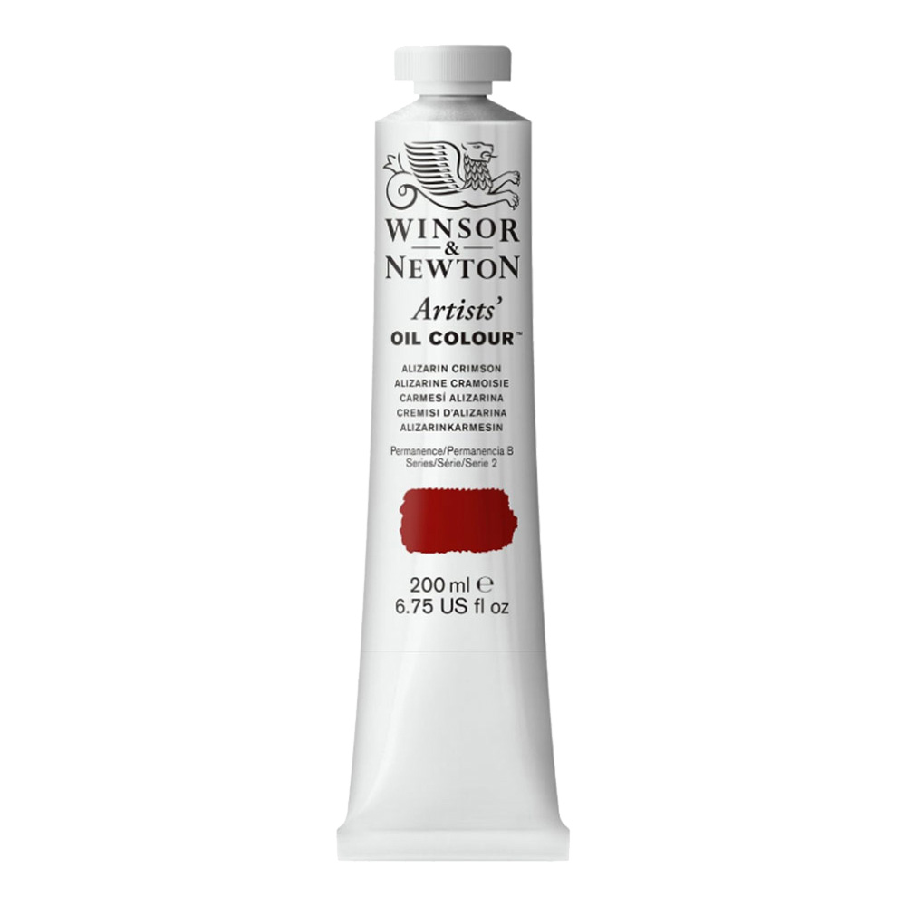 W&N Artist Oil 200Ml Alizarin Crimson