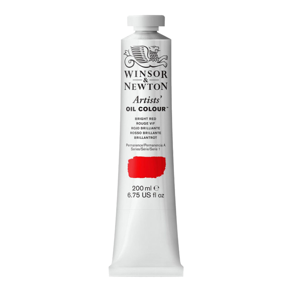 W&N Artist Oil 200Ml Bright Red