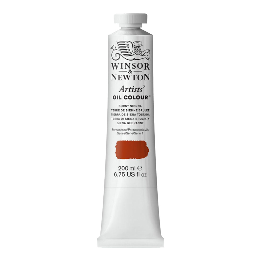 W&N Artist Oil 200Ml Burnt Sienna