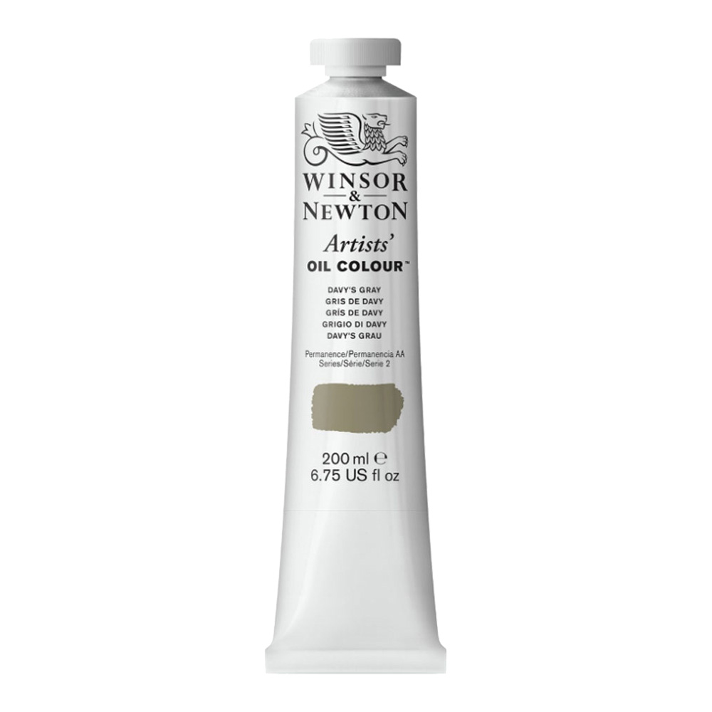 W&N Artist Oil 200Ml Davy's Gray