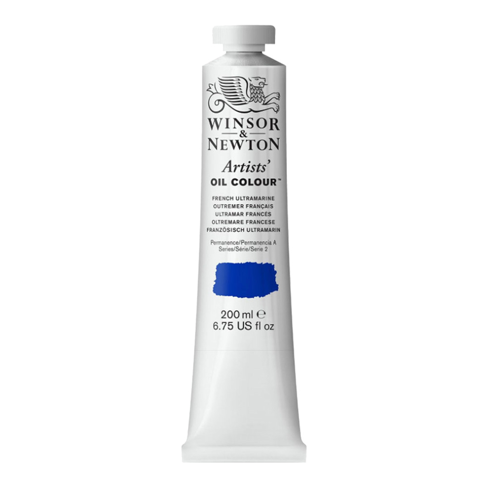 W&N Artist Oil 200Ml French Ultramarine