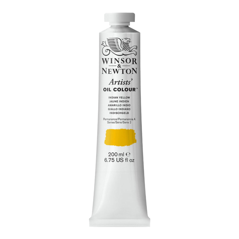W&N Artist Oil 200Ml Indian Yellow