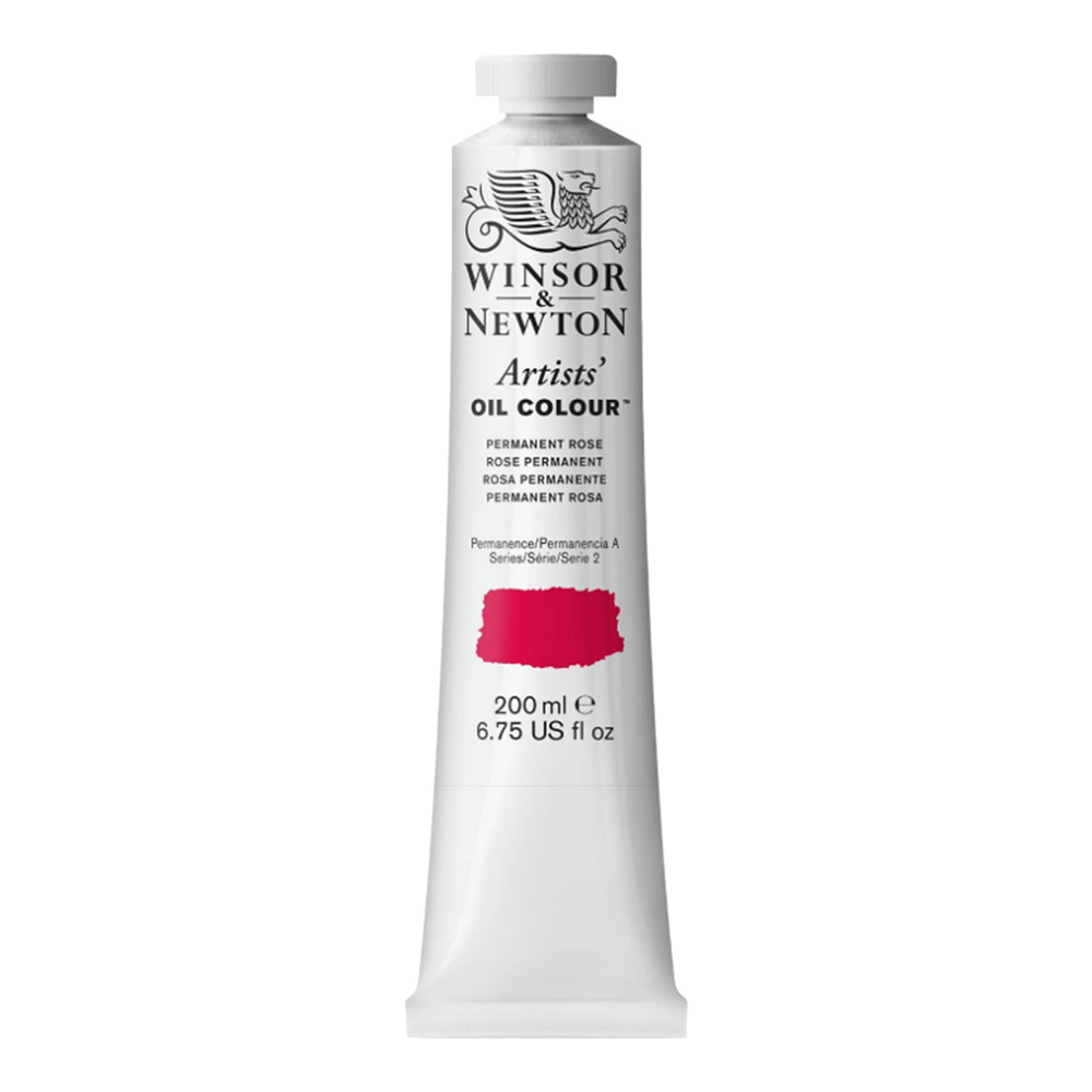 W&N Artist Oil 200Ml Permanent Rose