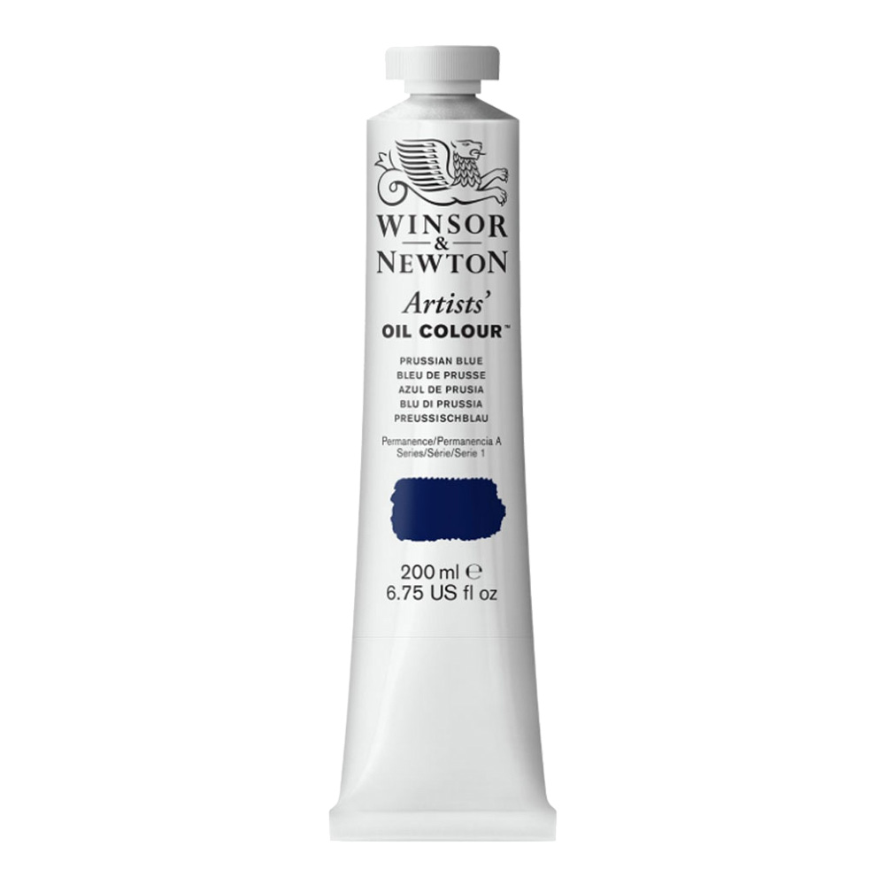 W&N Artist Oil 200Ml Prussian Blue