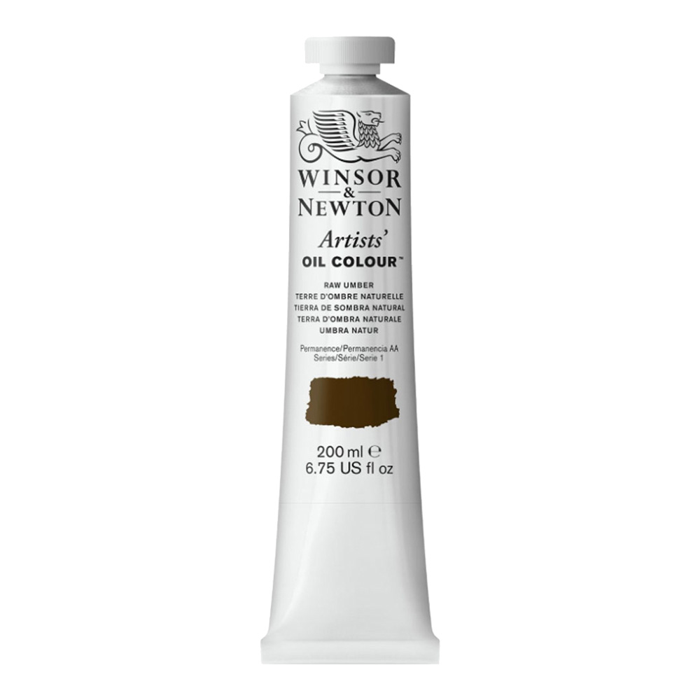 W&N Artist Oil 200Ml Raw Umber