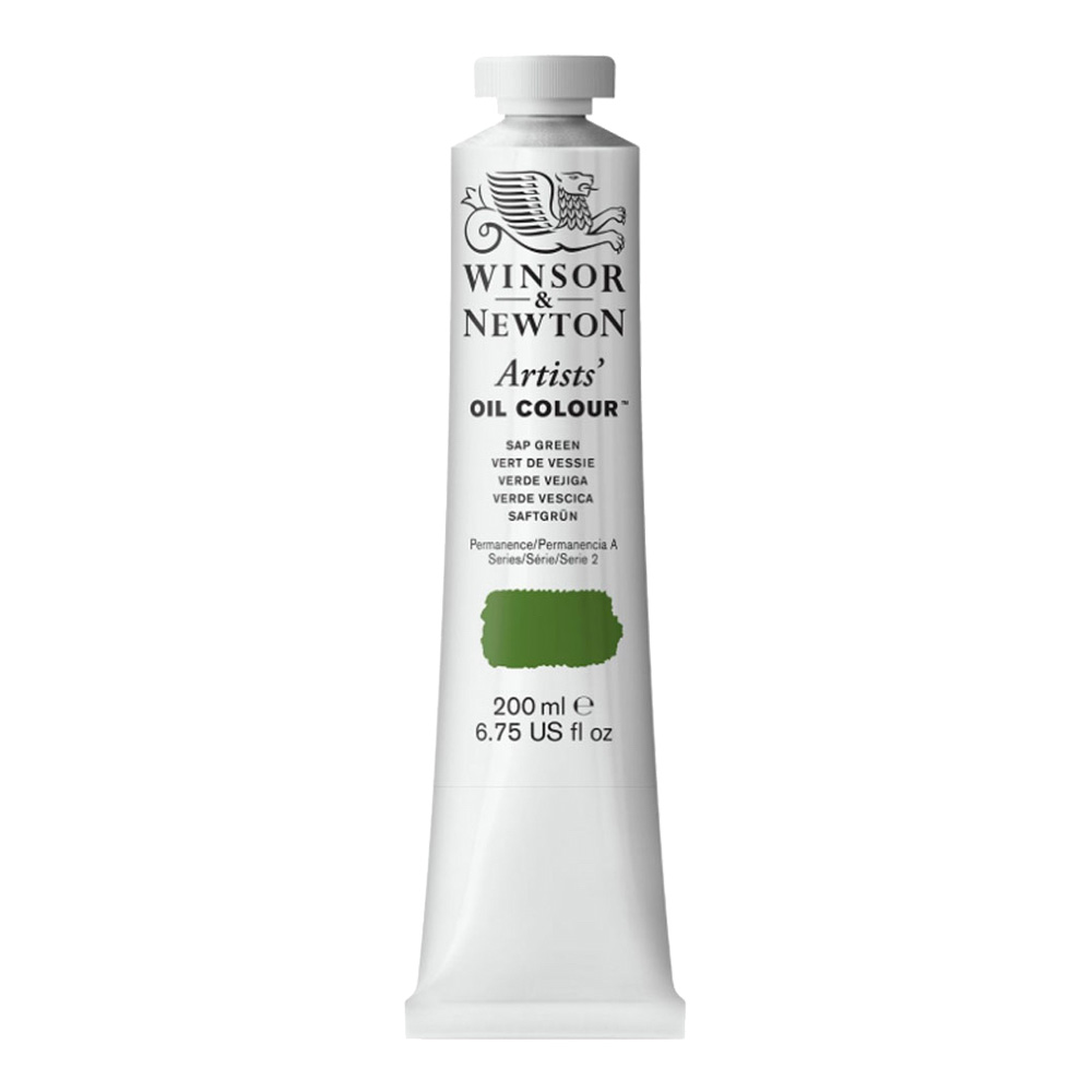 W&N Artist Oil 200Ml Sap Green