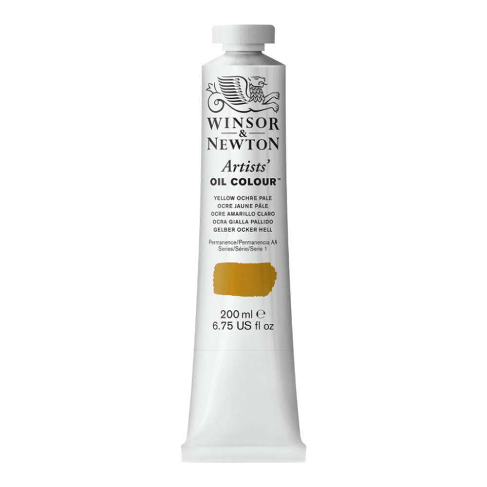 W&N Artist Oil 200Ml Yellow Ochre Pale