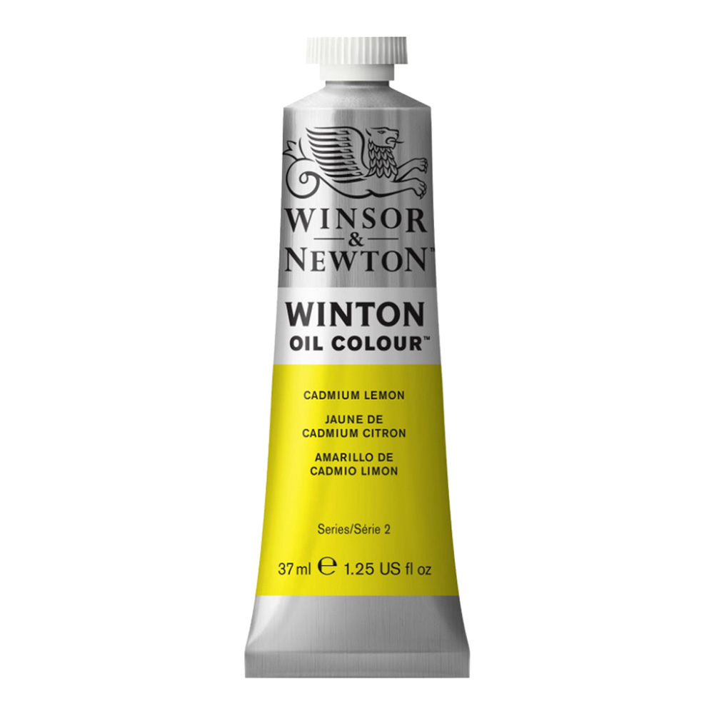 Winton Oil 37Ml Cadmium Lemon
