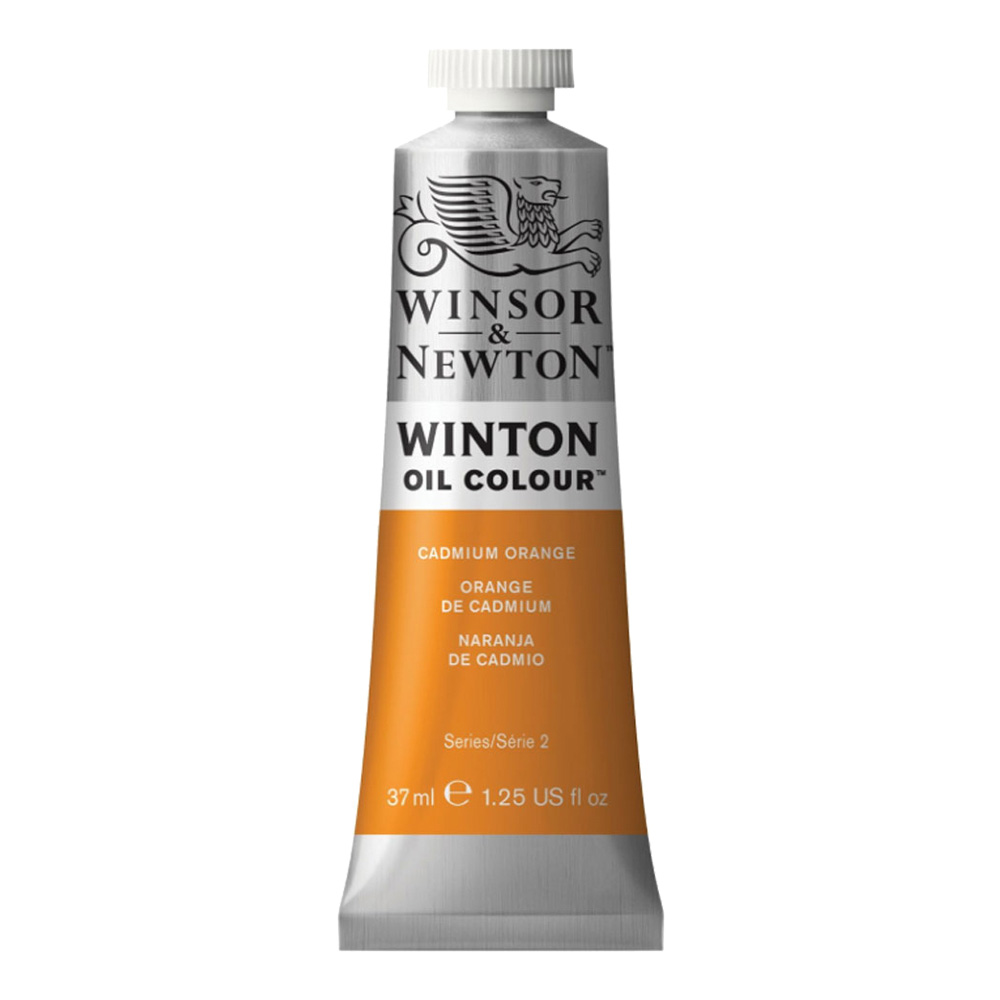 Winton Oil 37Ml Cadmium Orange