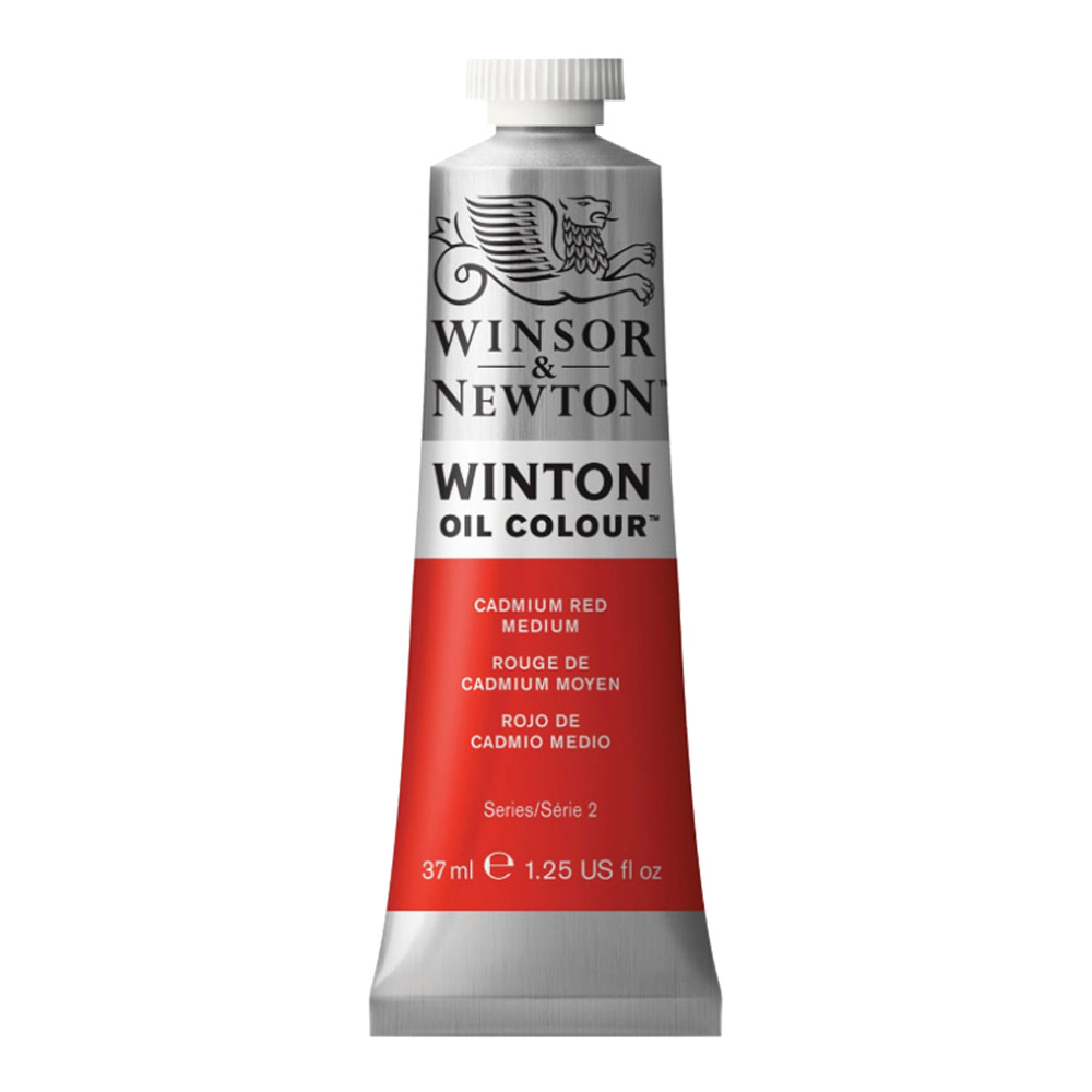 Winton Oil 37Ml Cadmium Red Medium