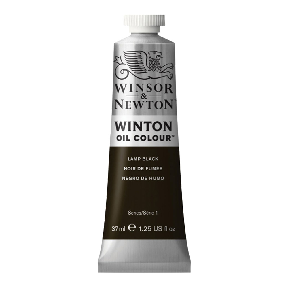 Winton Oil 37Ml Lamp Black