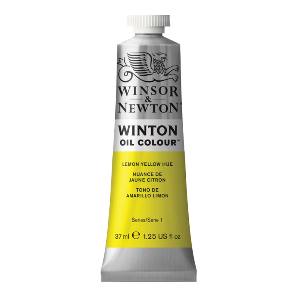 Winton Oil 37Ml Lemon Yellow Hue