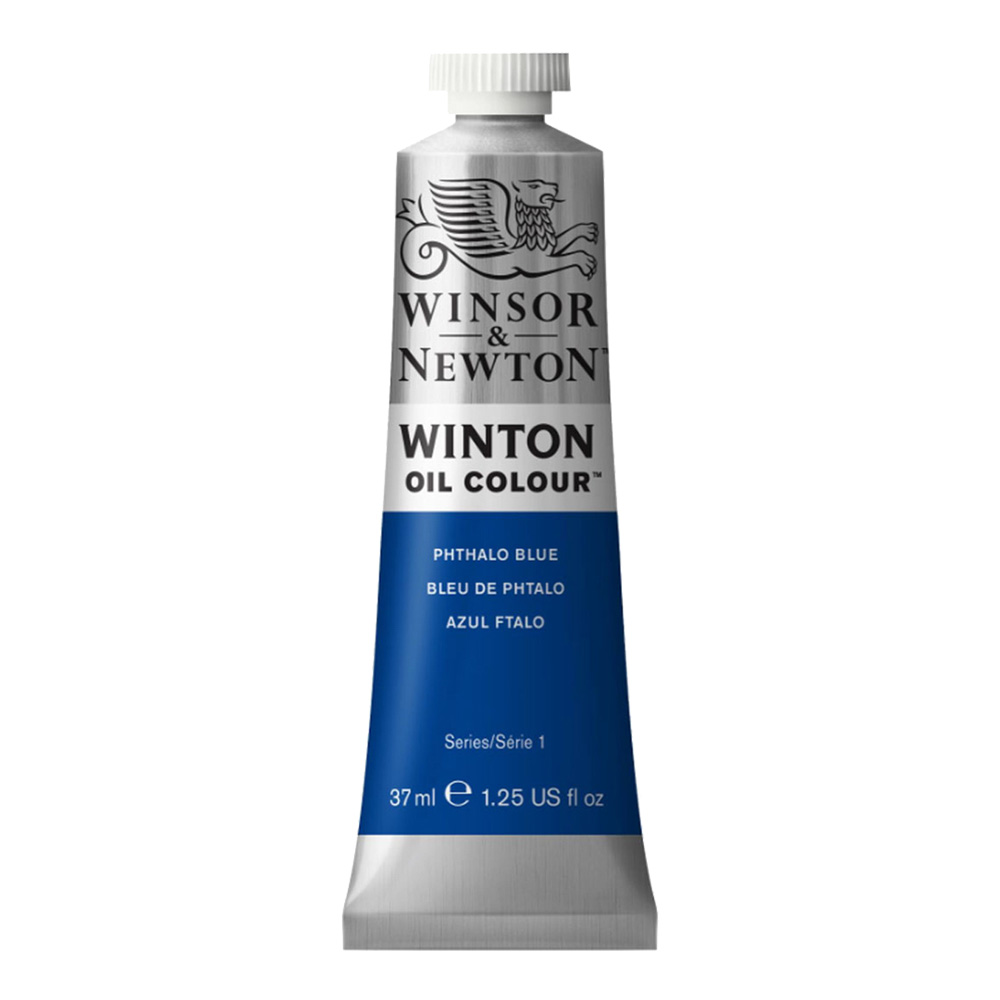 Winton Oil 37Ml Pthalo Blue