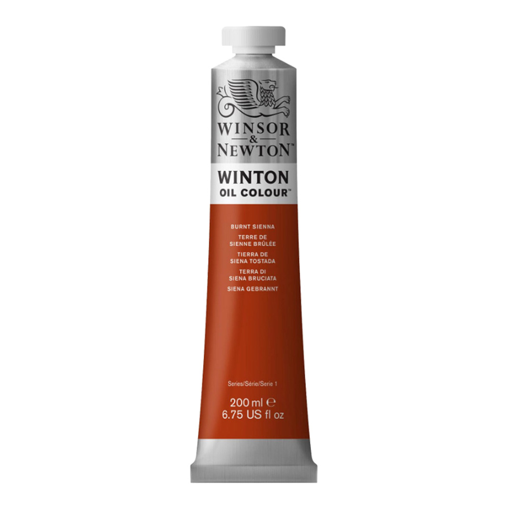 Winton Oil 200Ml Burnt Sienna