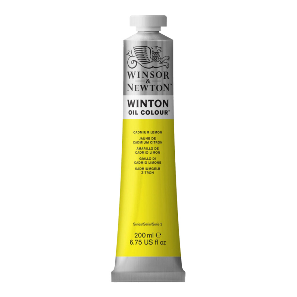 Winton Oil 200Ml Cadmium Lemon