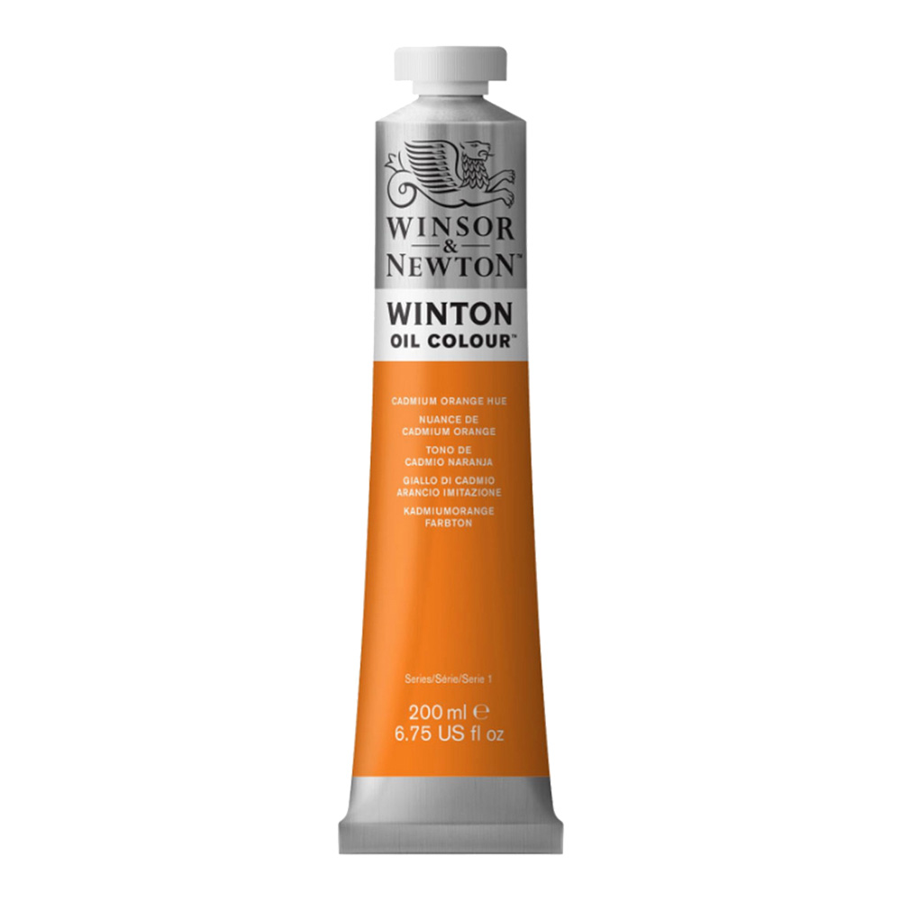 Winton Oil 200Ml Cadmium Orange Hue