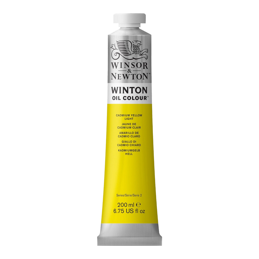 Winton Oil 200Ml Cadmium Yellow Light