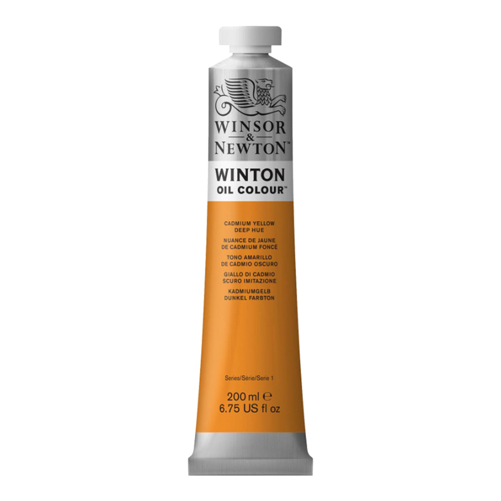 Winton Oil 200Ml Cadmium Yellow Deep Hue