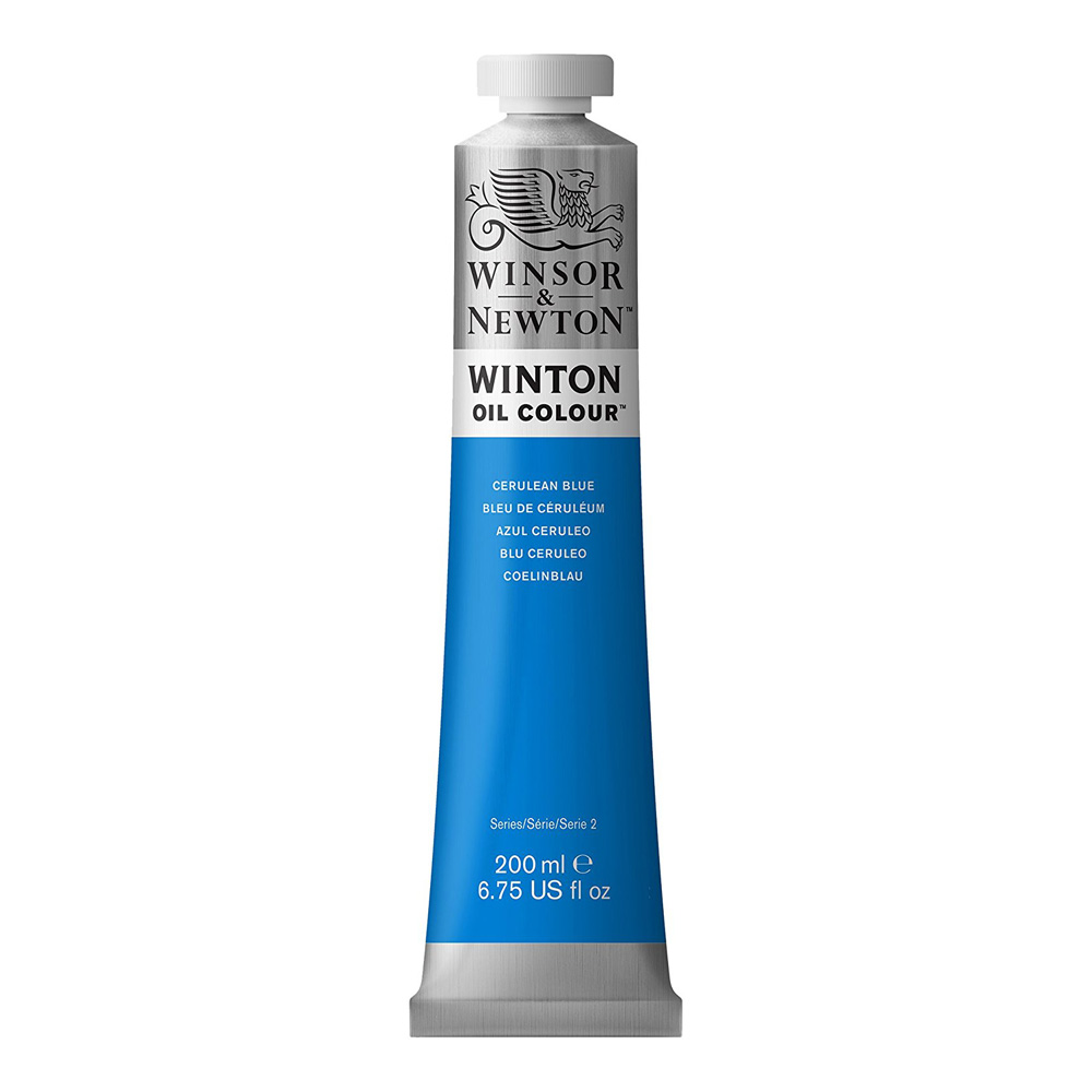 Winton Oil 200Ml Cerulean Blue