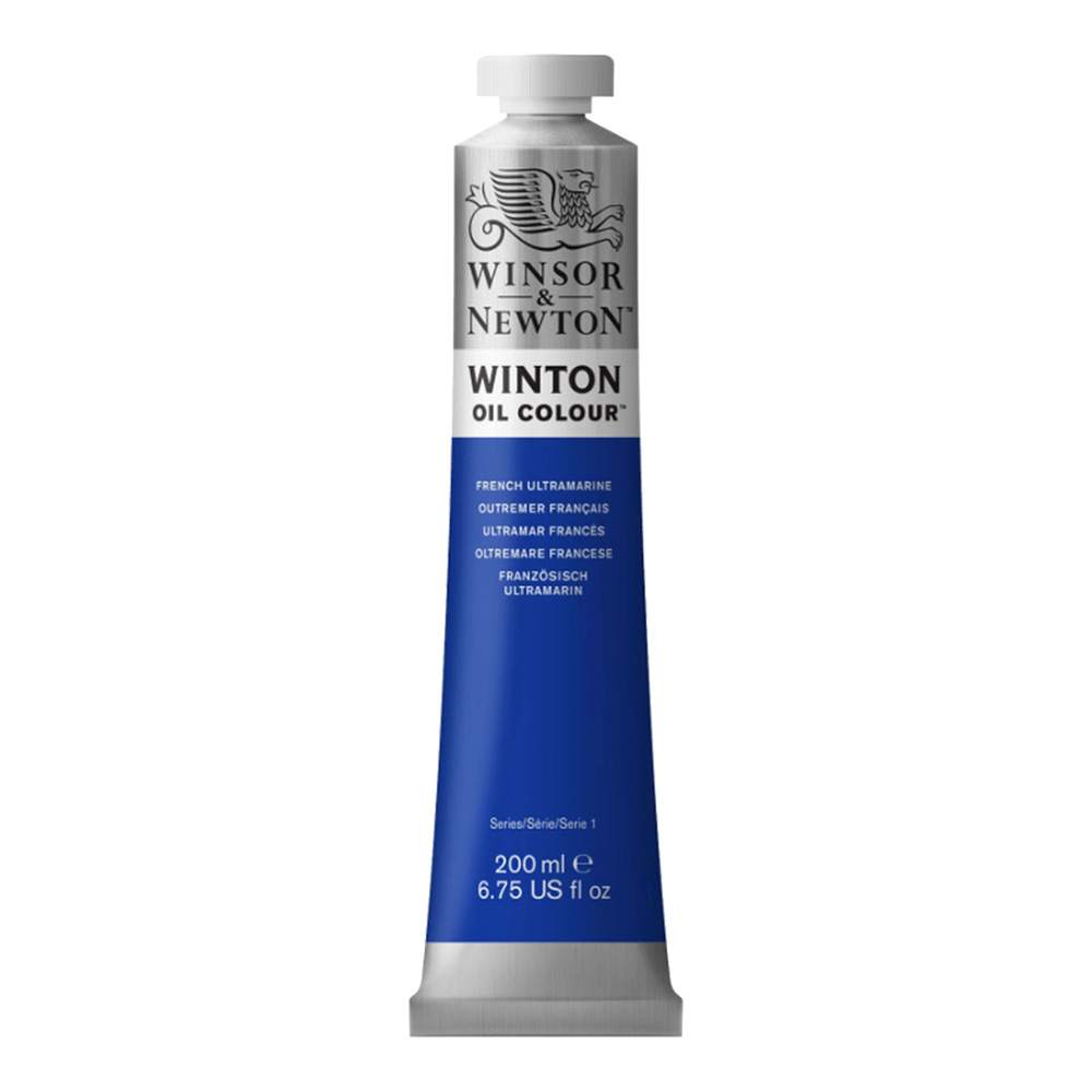 Winton Oil 200Ml French Ultramarine Blue