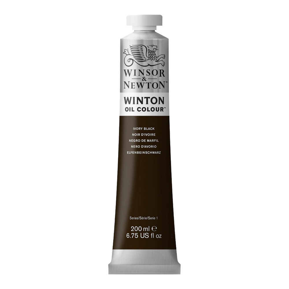 Winton Oil 200Ml Ivory Black