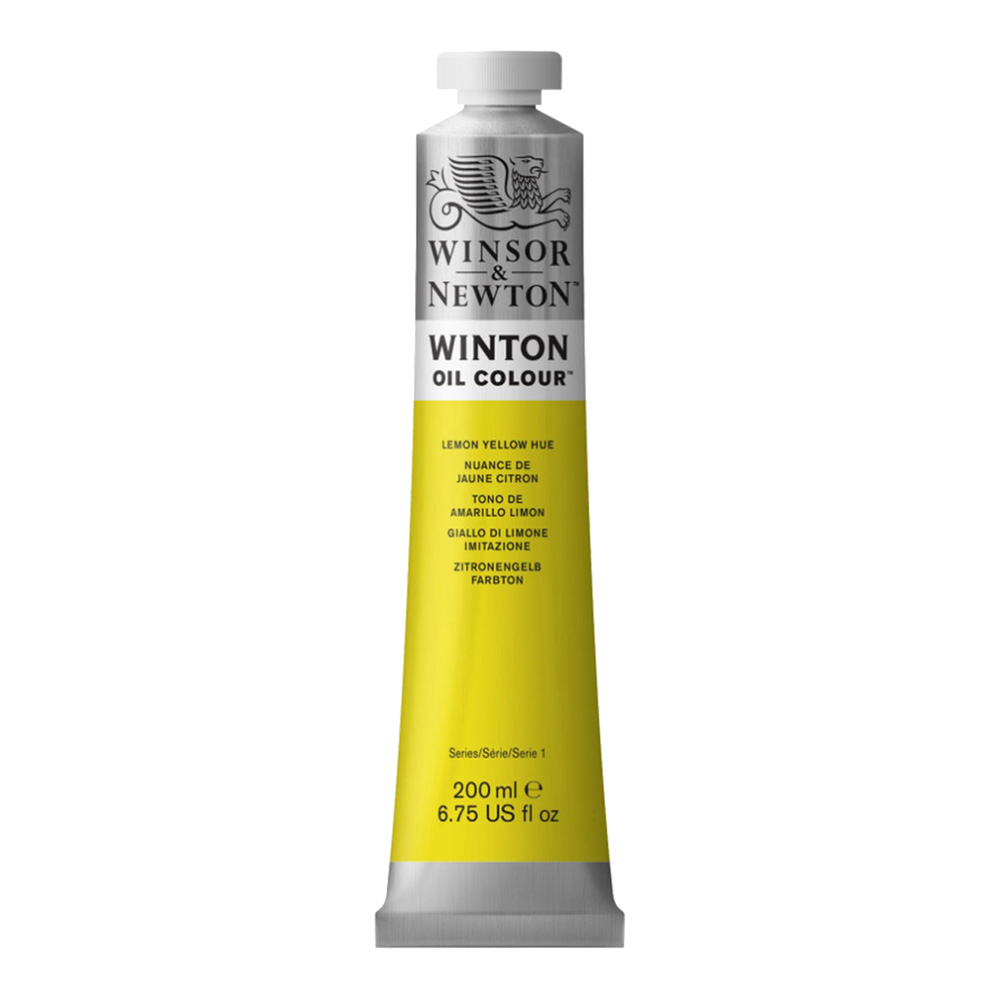 Winton Oil 200Ml Lemon Yellow Hue