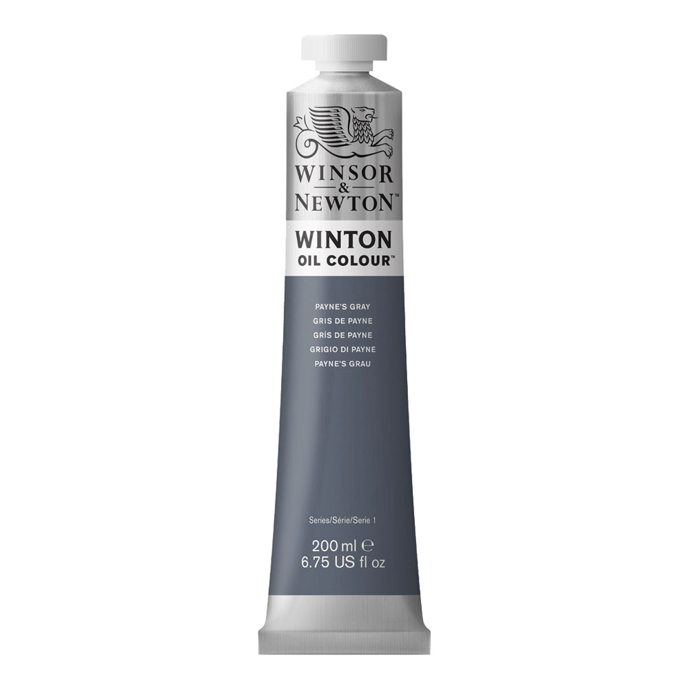 Winton Oil 200Ml Paynes Gray