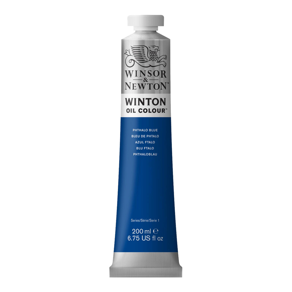 Winton Oil 200Ml Pthalo Blue