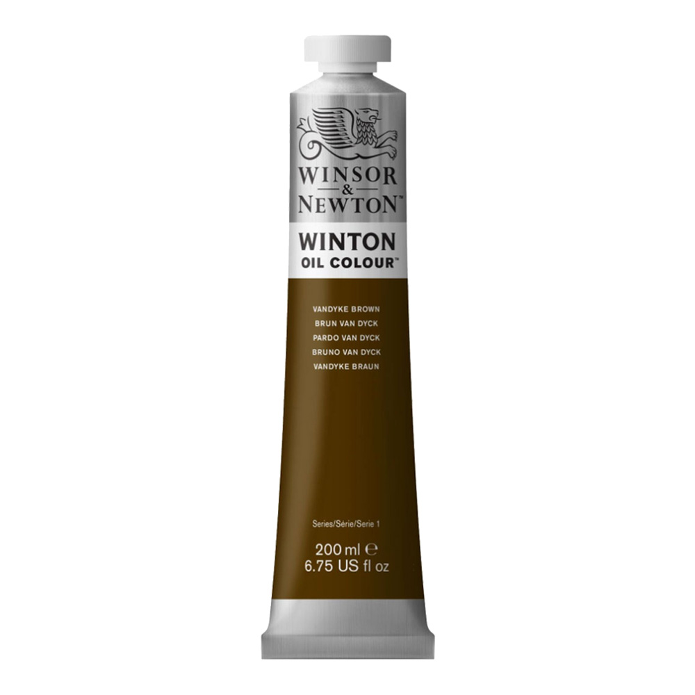 Winton Oil 200Ml Vandyke Brown
